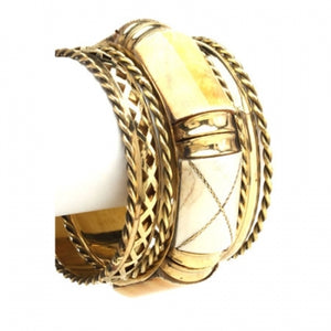 Bamboo Wood Bangle Set