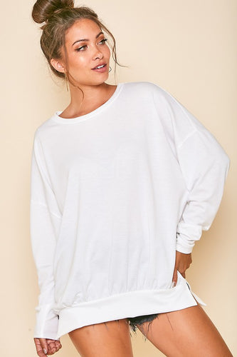 Women's Oversized Lightweight Sweatshirt
