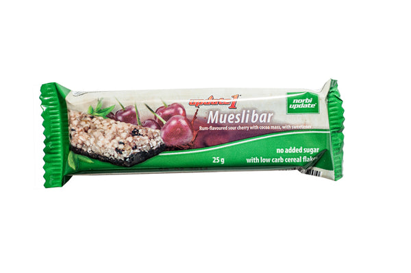 Rum Flavoured Sour Cherry Muesli Bar