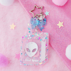 I Need Space Shaker Charm