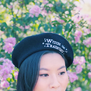 Witch in Training Beret