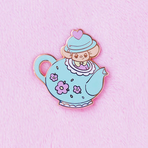 Spiked Tea Pin
