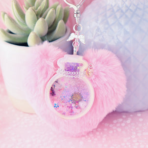 Flora Potion Bottle Shaker Charm