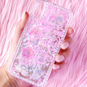 LTS Falling Glitter iPhone x Case