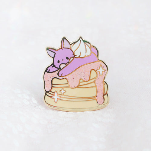 Jiji Loves Pancakes v2 pin