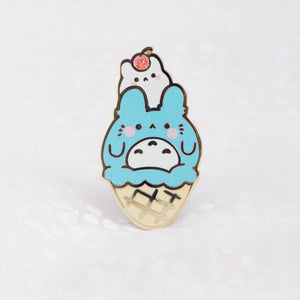 Totoro Ice Cream Pin