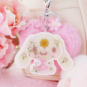 Flora Cinna Strawberry Shaker Keychain