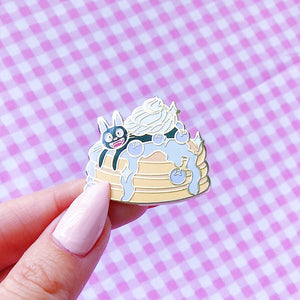 Jiji Loves Pancakes Pin - Sweetery Club - LoveAprilMoon