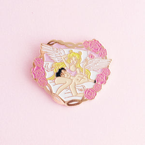 Amour Eternal Pin -Rose Gold - LoveAprilMoon