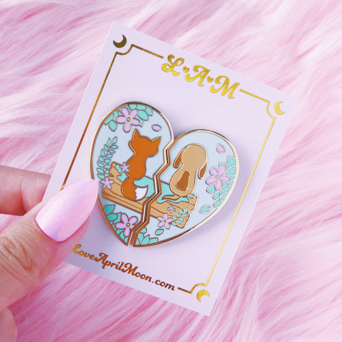 Best Friends Pin Set