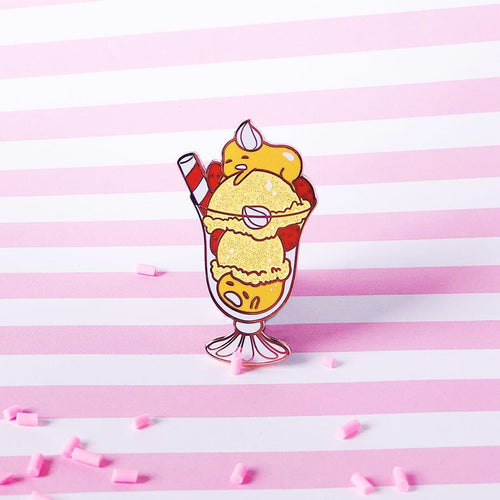 Gude Ice Cream Pin
