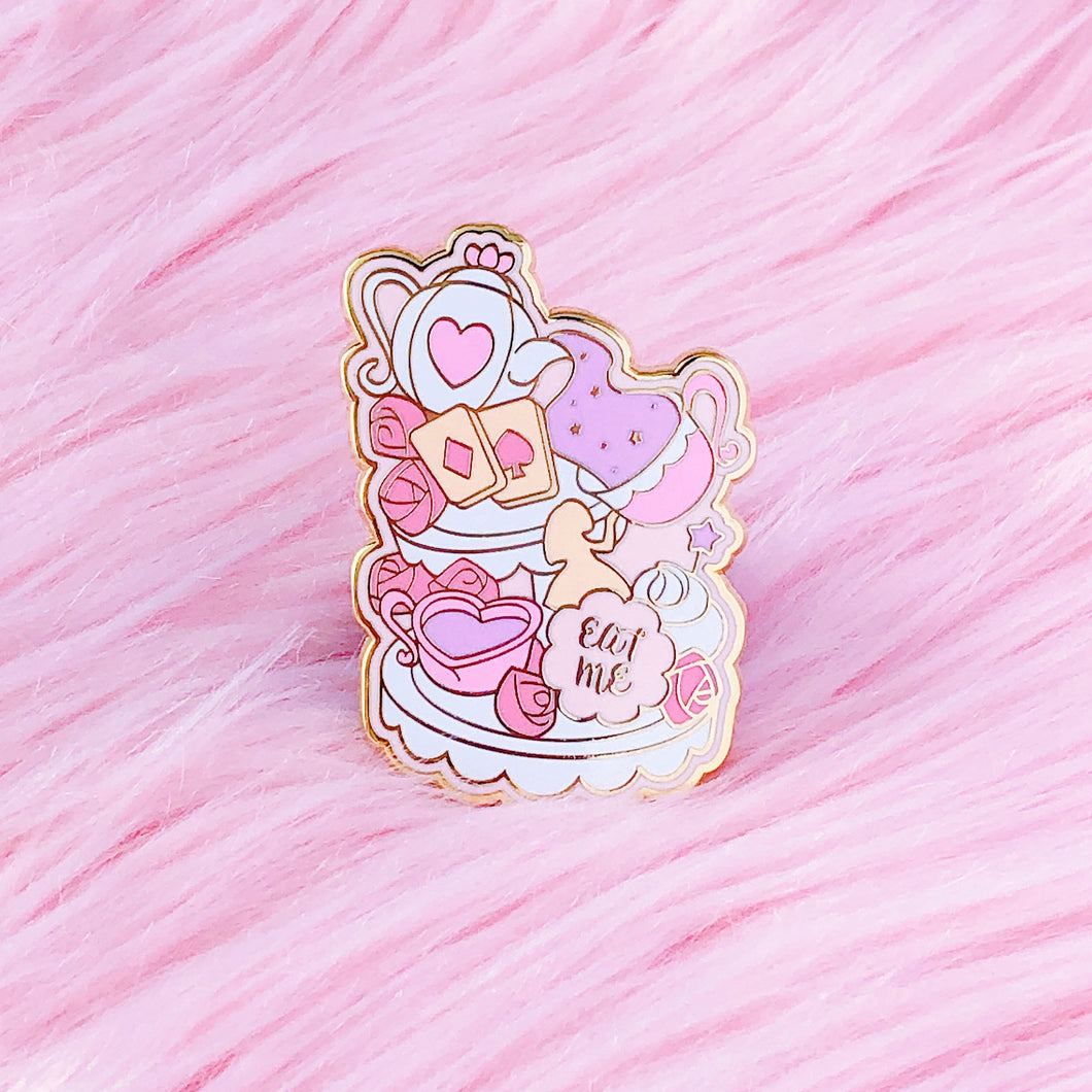Wonderland Tea Party Pin