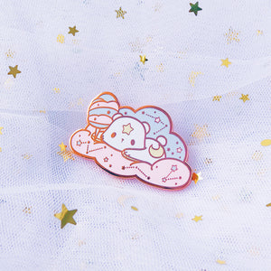 Cotton Candy Galaxy Astro Pin