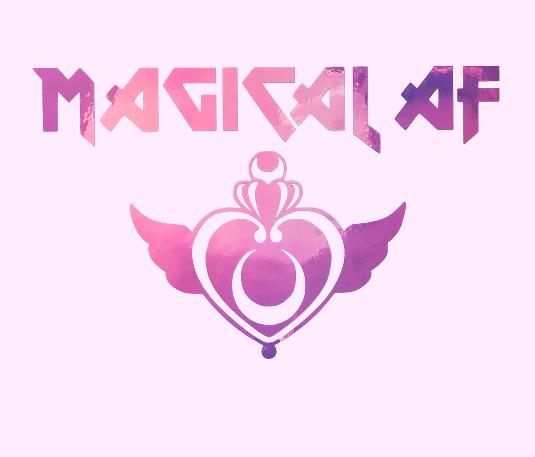 Magical AF Metal Decal - LoveAprilMoon