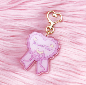 Magical Girl Acrylic Charm - LoveAprilMoon
