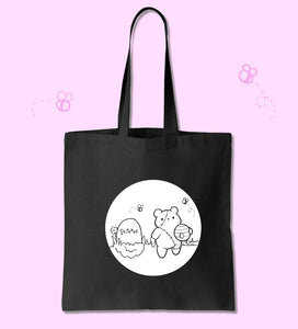 Stitches Tote Bag