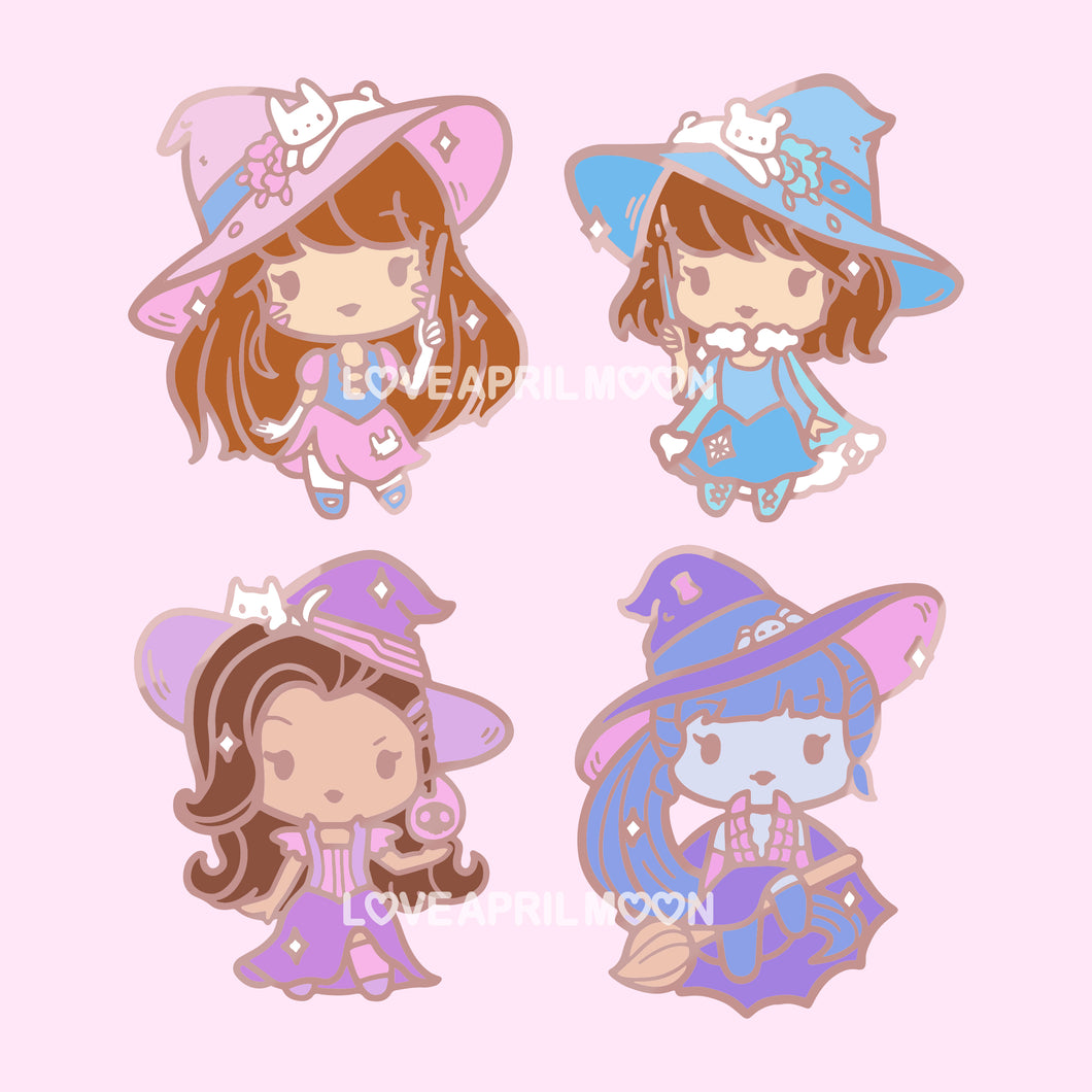 Pre-Order Witch Watch Pins