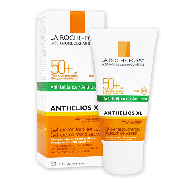 Protector Solar Gel Anthelios Dry Touch La Roche Posay Spf 50 (50 ml)