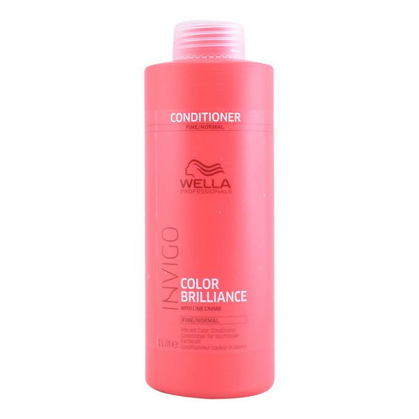 Balsam pentru Păr Subțire Invigo Color Brilliance Wella (1000 ml)