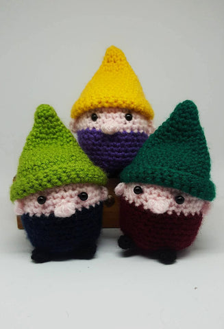 Gnome Plush - Handmade Crochet Stuffed Toy