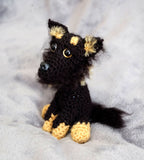 German Shepherd Dog Handmade Crochet Plush - Stuffed Animals and Toys
