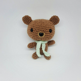 Teddy Bear Plush - Handmade Crochet Stuffed Animal Toy