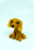 English Cocker Spaniel Dog Handmade Crochet Plush/Stuffed Toy