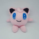 Pokemon Jigglypuff Plush - handmade crochet amigurumi stuffed toy.