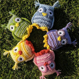 Owl Plush - Handmade Crochet Stuffed Animal Toy/ Decoration.