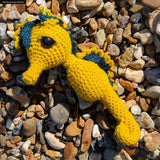 Seahorse Plush - Handmade Crochet Stuffed Animal Sea Creature