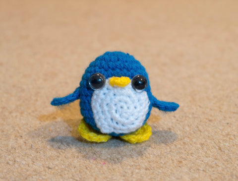 Penguin Plush - Handmade Crochet Stuffed Animal Toy