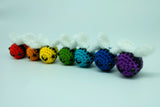 Bumble Bee Plush or Keyring. Lovingly Handmade Crochet Stuffed Animal - Personalised Gift Option.