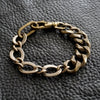 Chain Bracelet No.2 : Antique Gold Brass