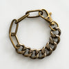 Chain Bracelet No.1 : Antique Gold Brass