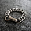 Chain Bracelet No.5 : Antique Silver Brass