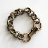 Chain Bracelet No.3 : Antique Gold Brass