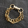 Chain Bracelet No.4 : Antique Gold Brass