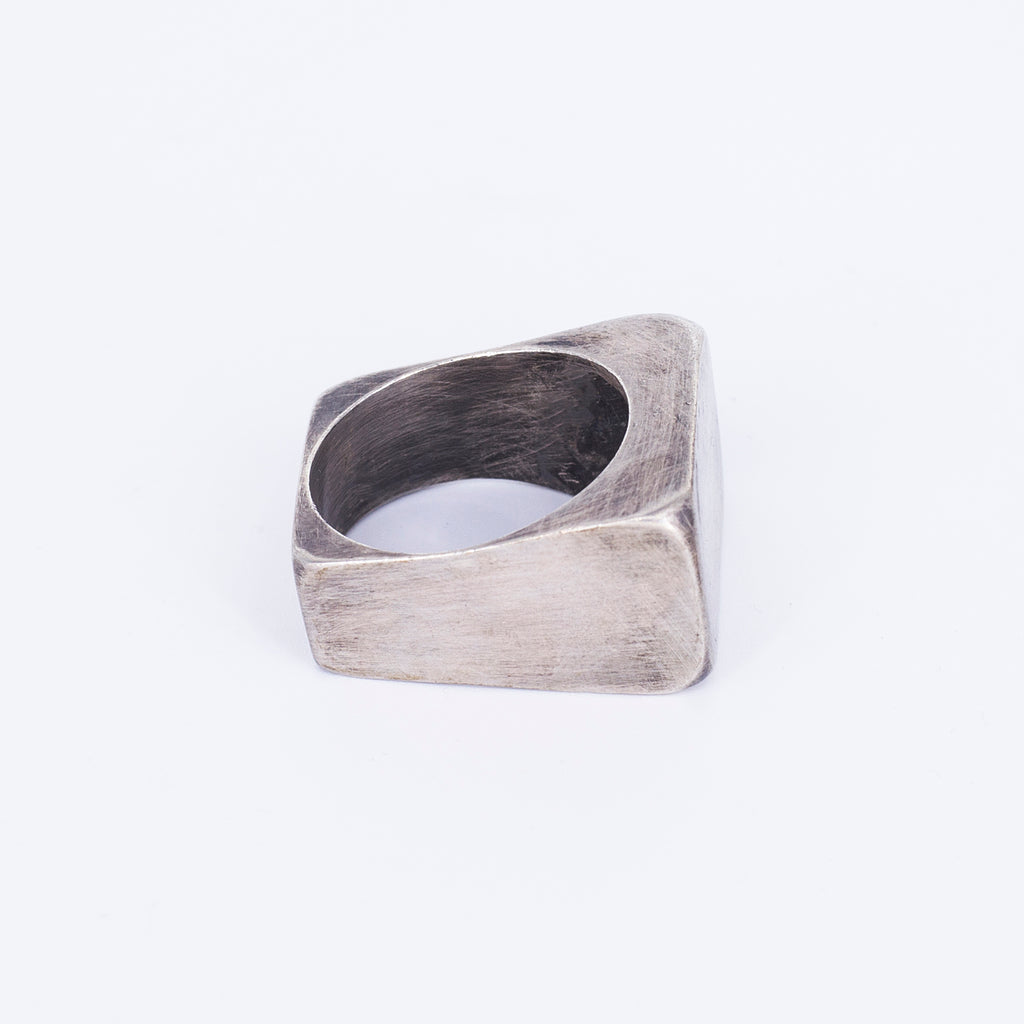 ROCK RING STERLING SILVER