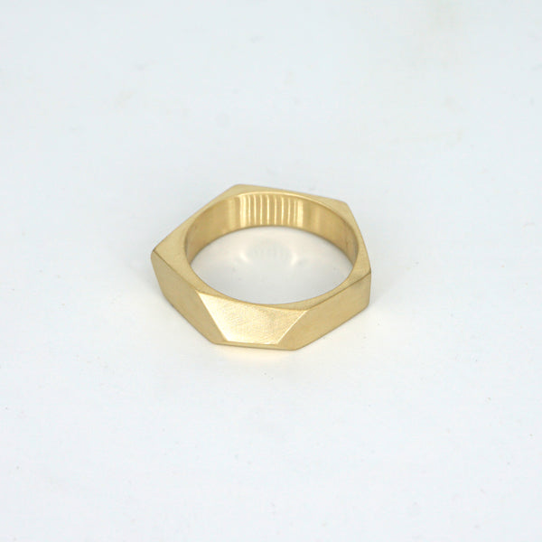 Eight Faced Ring