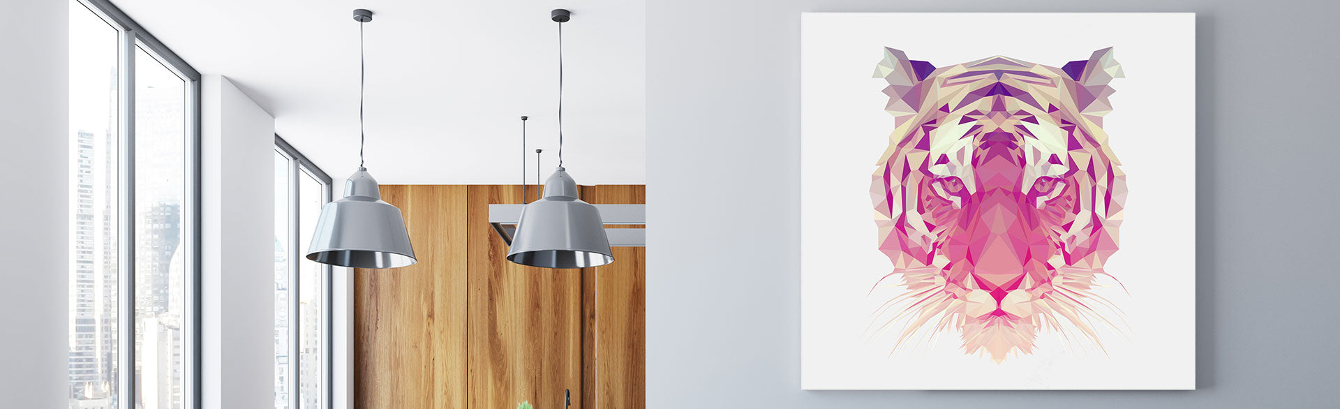 Here you can find all colours canvas prints, from classic black and white art prints to modern minimalist colourful prints. If you are looking for a certain colour, please use the filter by colour section and select your desired colour.