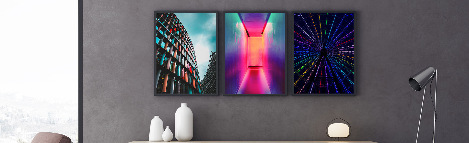 Artstract offers a wide range of colourful poster and canvas prints. Add a touch of colour to your living room, hallway, kitchen or kids room with our colourful funny prints, city prints, animals wall art or illustration prints. Browse our collections and start creating your stylish wall art gallery!