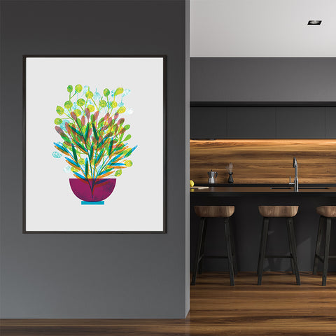 Flowers Poster Print