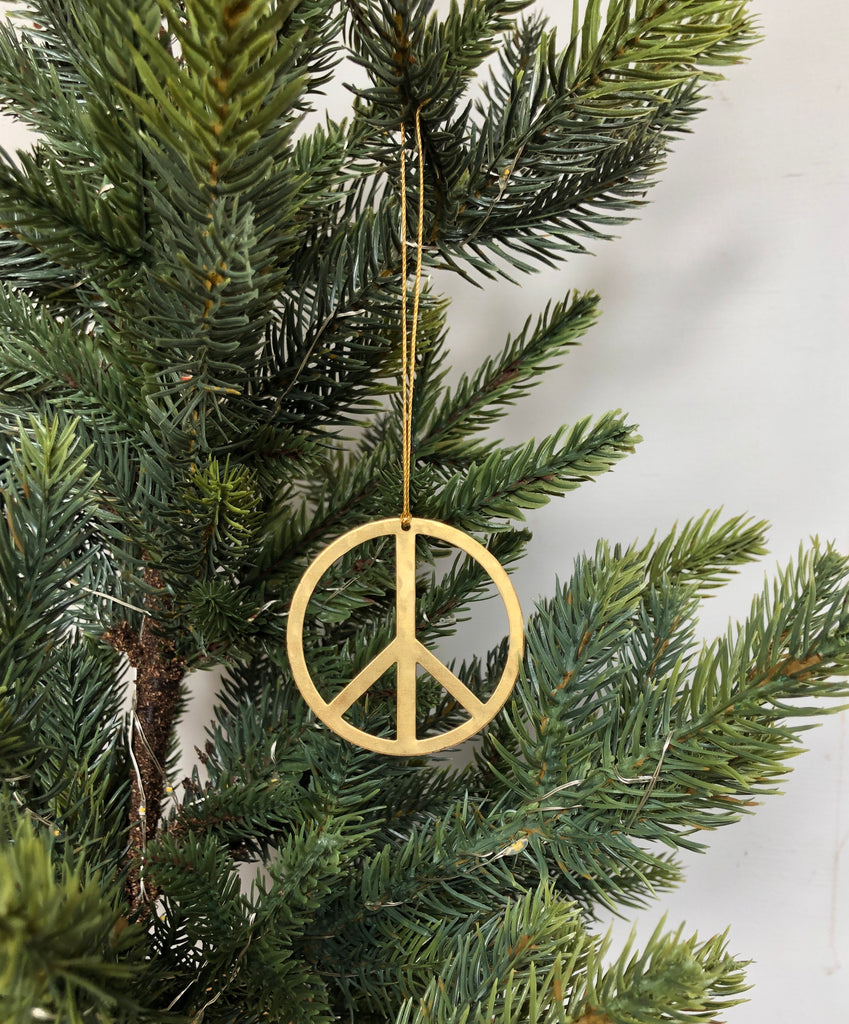 Choose Peace Ornament