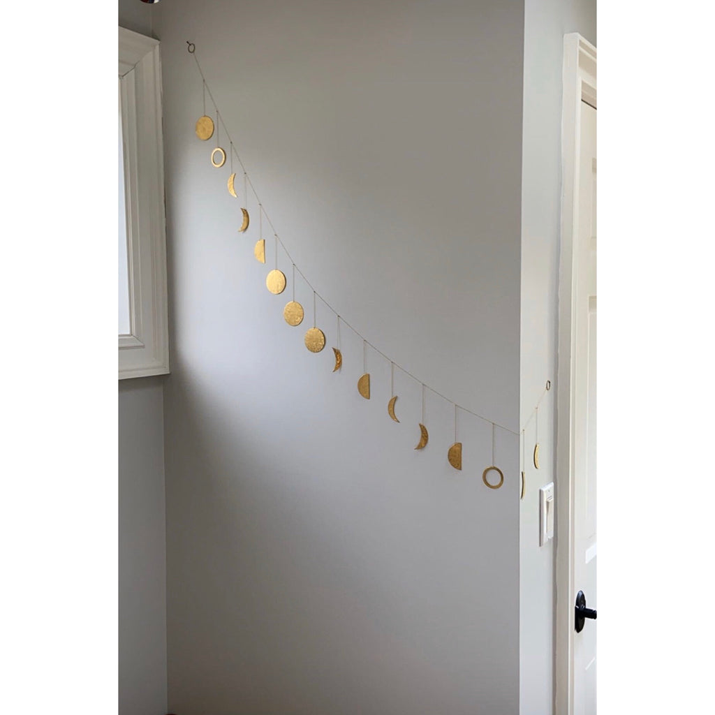 Moon Phases String Garland