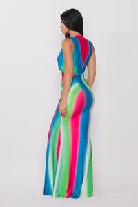 AnyTime Tie Dye Maxi Dress - HOEA31360