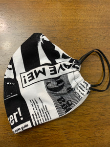 Our Save Me Fashion Mask