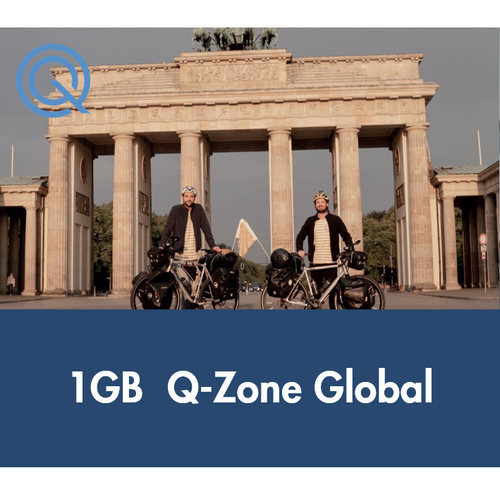 Biking Borders Q-Access 1GB Global