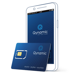 Q-Travel incl. 250 MB data for Zone Global, Q-SIM, Qynamic, Qynamic  - Qynamic