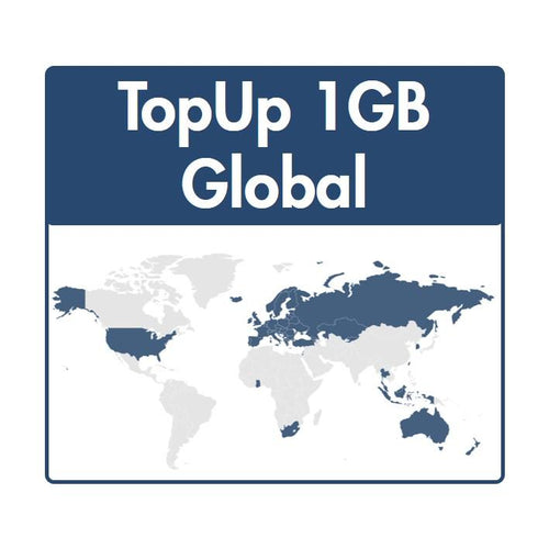 TopUp 1GB Zone Global