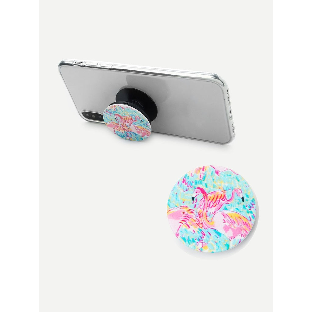 Flamingo Pattern Multi-Functional Phone Holder